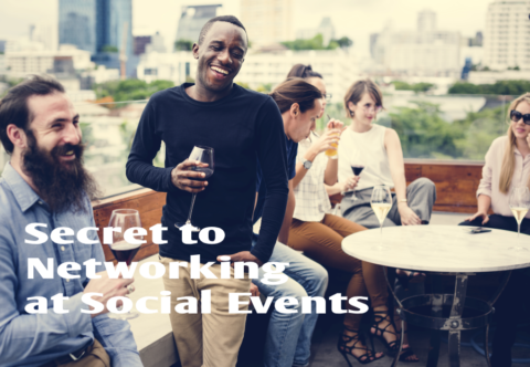 The Secret to Networking at Social Events